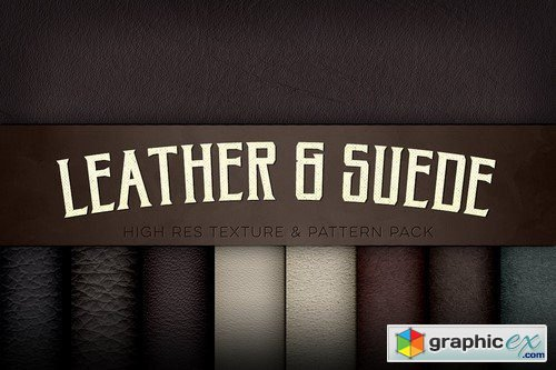 Leather Suede Texture Pack