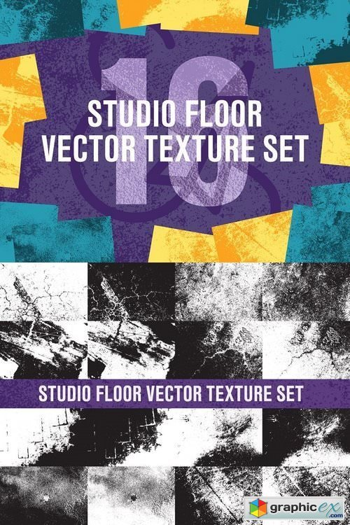 Studio Floor Vector Texture Set