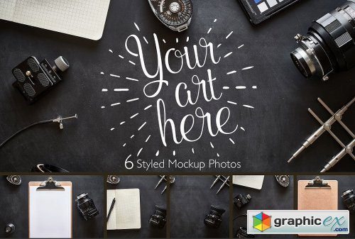 Photographer Desk Photo Bundle