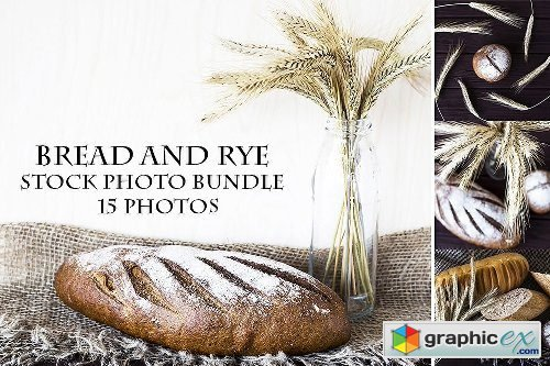Bread And Rye Stock Photo Bundle
