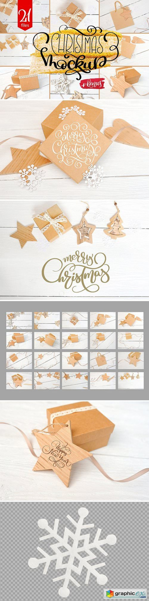 Christmas Mock Up Photos Collection