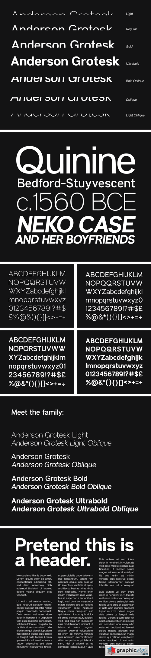 Anderson Grotesk Font Family