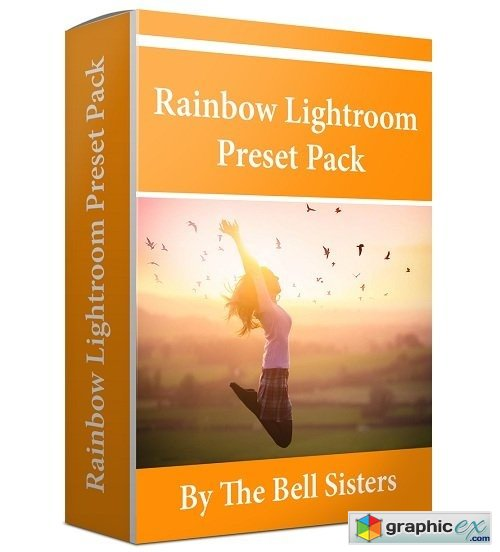 The Bell Sisters Rainbow Colours Lightroom Preset Pack
