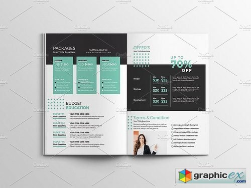 Creative Proposal Template 1961016 Free Download Vector Stock