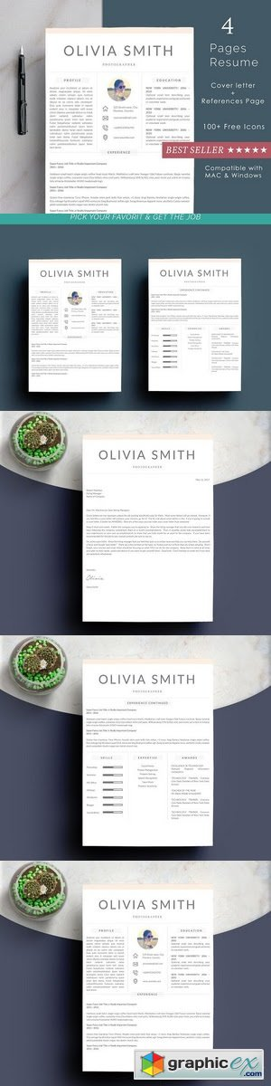Resume Template 2 Page | Lebenslauf