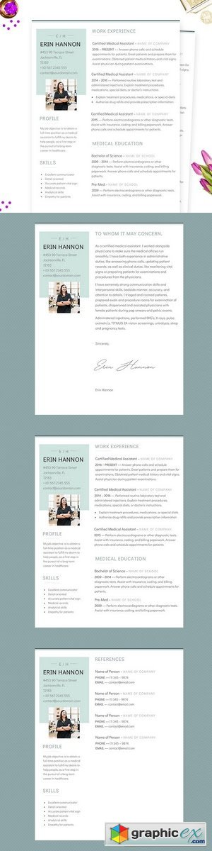 Minimalist MS Word Resume Template