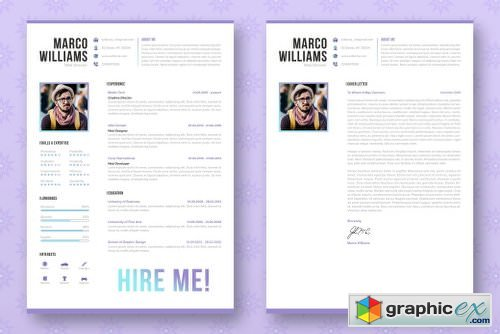 Professional Resume / CV Template 2089784