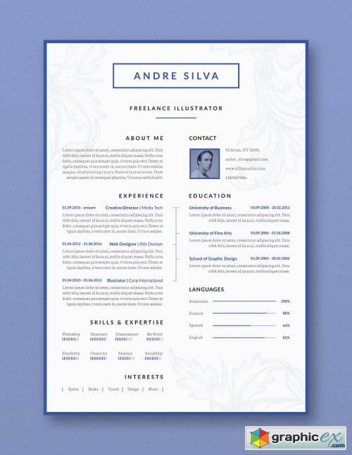 Professional Resume / CV Template 2089672