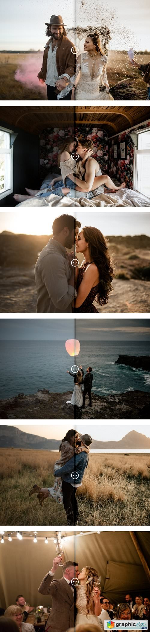 Chris and Ruth Photography Lightroom Presets Pack