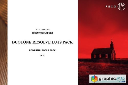 DUOTONE RESOLVE N�2 Luts BUNDLE PACK