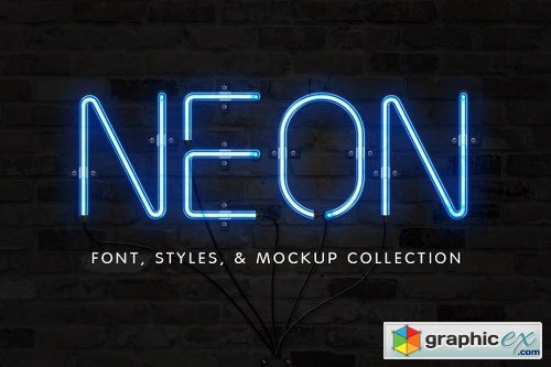 The Neon Font Sign Collection
