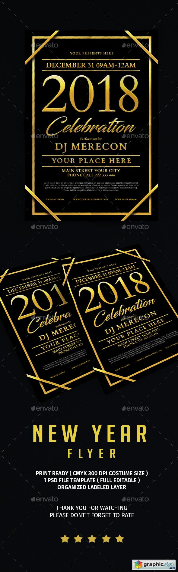 New Year Celebration Flyer 21101671