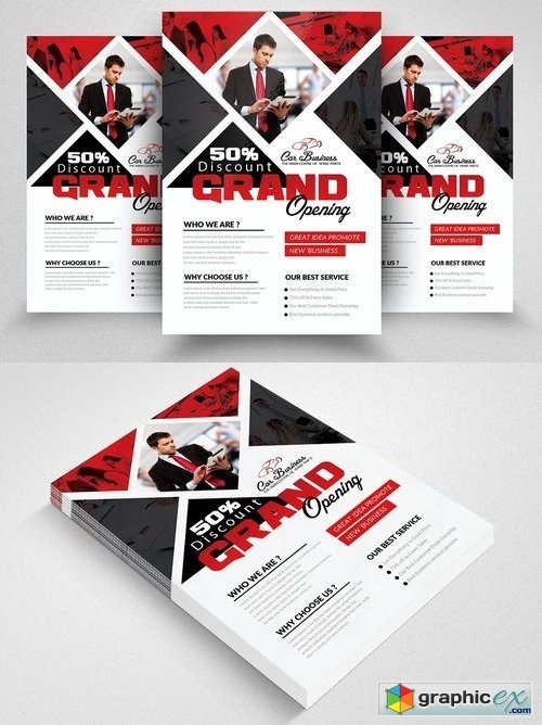 Grand Opening Flyer Template 1825821