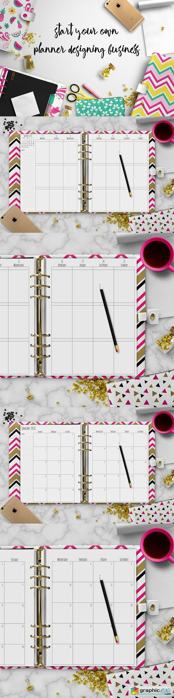 Big Planner Template