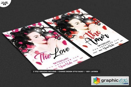 THE LOVE FLyer Template