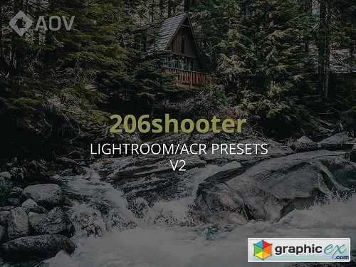 AOV X 206 SHOOTER V2 LIGHTROOM PRESET PACK