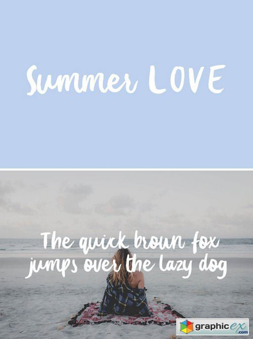 Summer Love Typeface