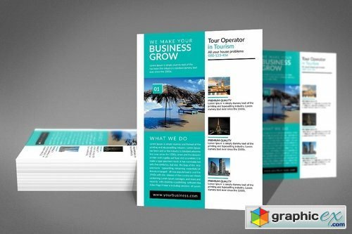 Corporate Business Flyer Template 2183614
