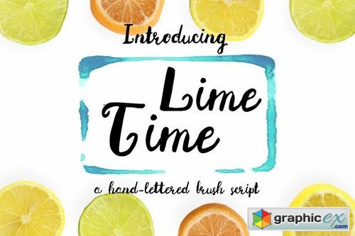 Lime Time Handwritten Font