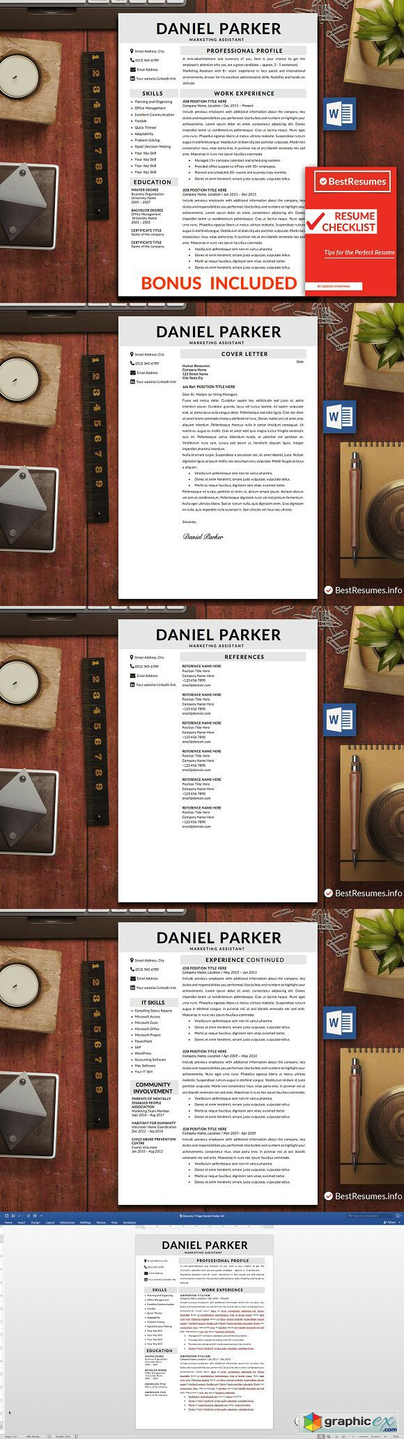 Professional Resume Template Word