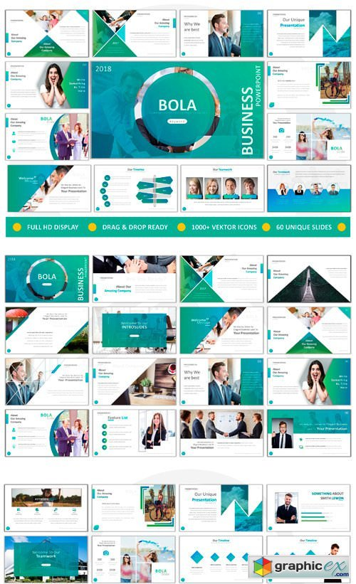 Bola Business Powerpoint