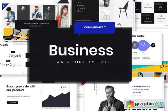 Oliver Business Powerpoint template