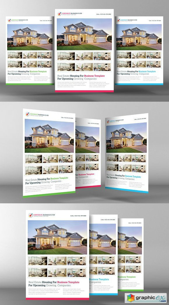 Real Estate Flyer Template 2219161