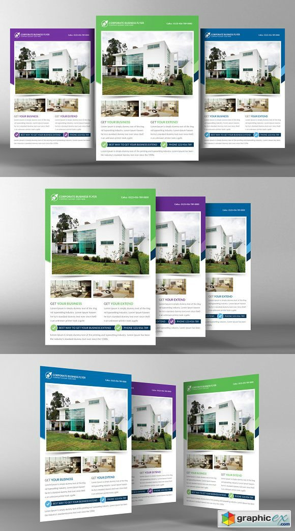 Real Estate Flyer Template 2219294