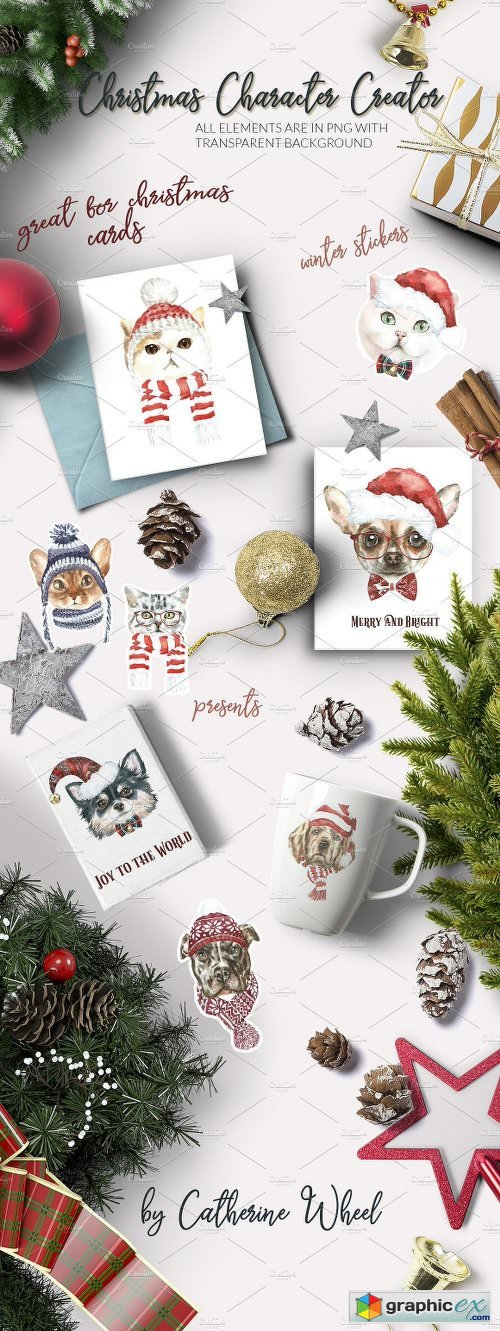 Christmas Animals Dogs & Cats SALE