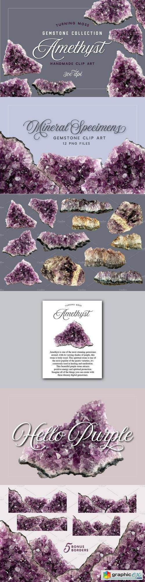 Amethyst - Gemstone Specimens