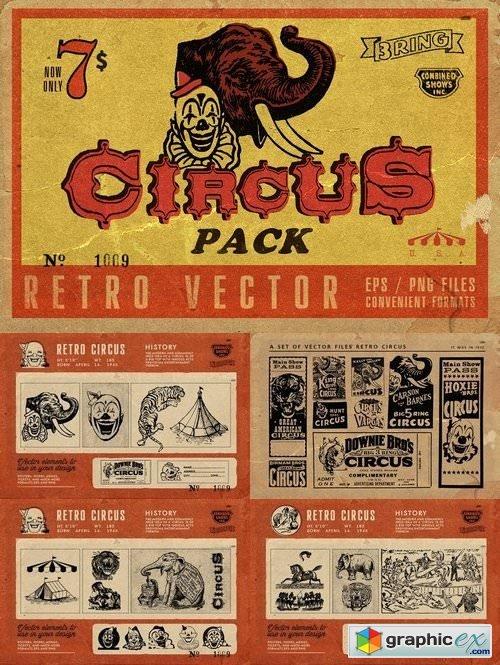 Retro Circus Pack