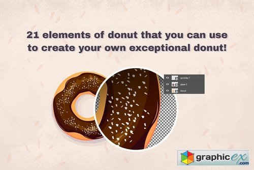 Oh donuts Create your own