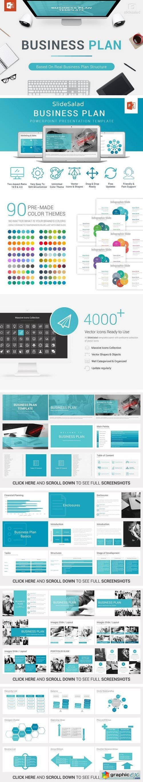 Business plan powerpoint template 1982832 free download vector business plan powerpoint template 1982832 toneelgroepblik Images