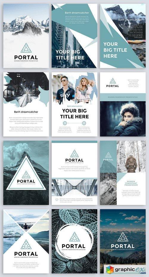 A4 Portal Modern Point Template