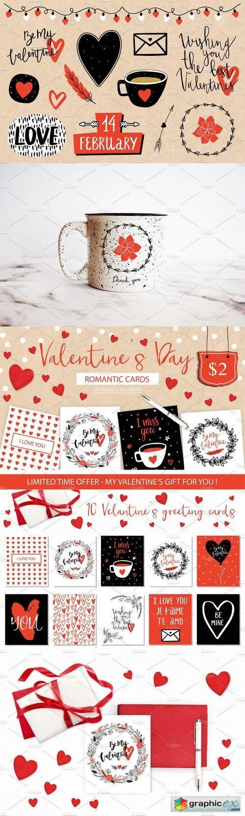 Valentine's Day romantic collection