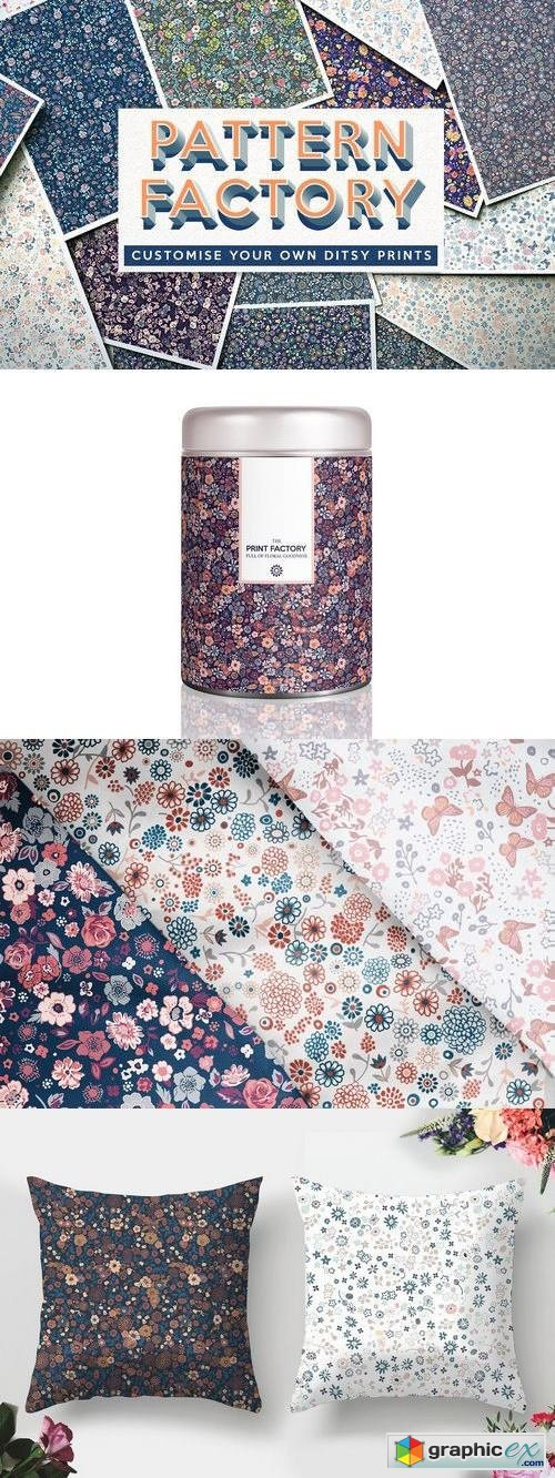 The Pattern Factory - Ditsy Florals