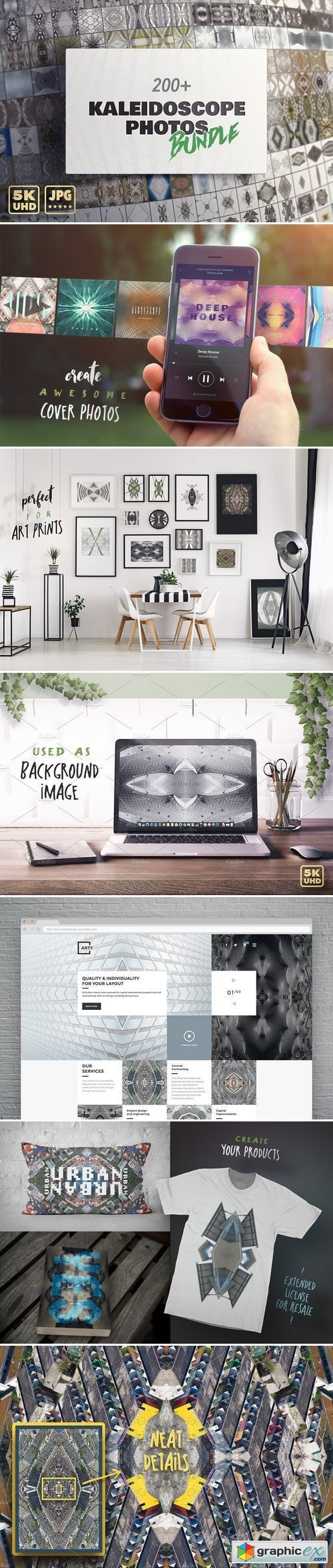 The Kaleidoscope Photo Bundle