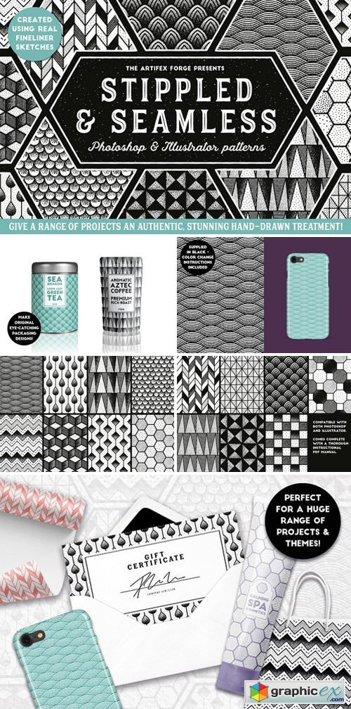 Stippled & Seamless - Patterns