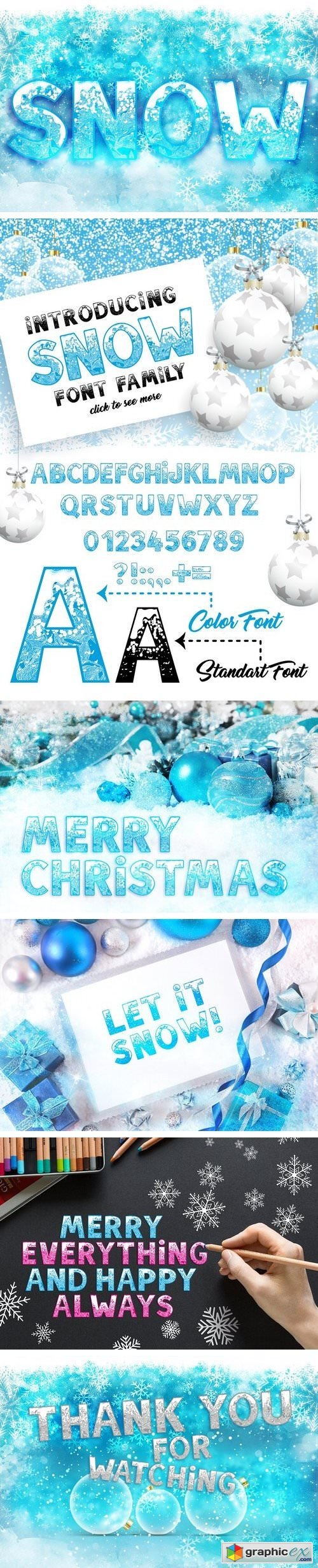 SNOW - Font Family