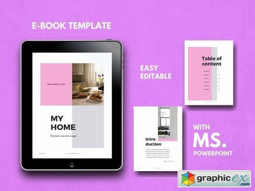 Ebook Template - Powerpoint Template