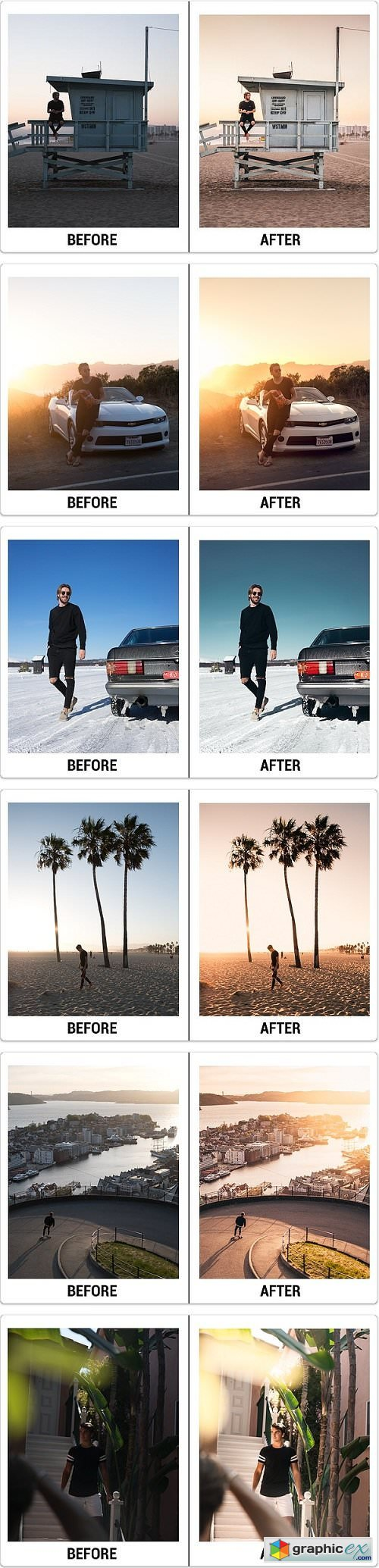Marcus Valeur Original Lightroom Presets