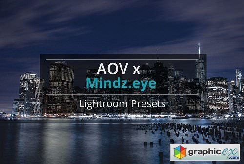 "AOV x Mindz.Eye ""Urban"" Lightroom Presets"