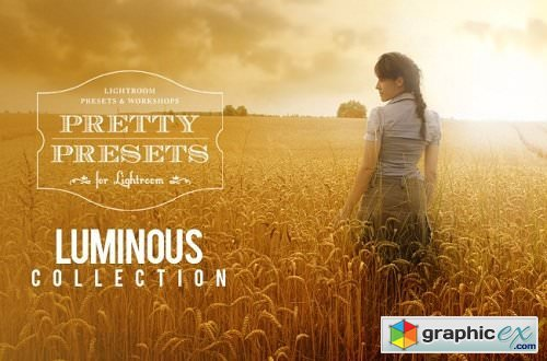 Pretty Presets - Luminous Lightroom Collection - Limited Edition JPEG