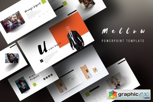 Mellow Premium Powerpoint Template Free Download Vector