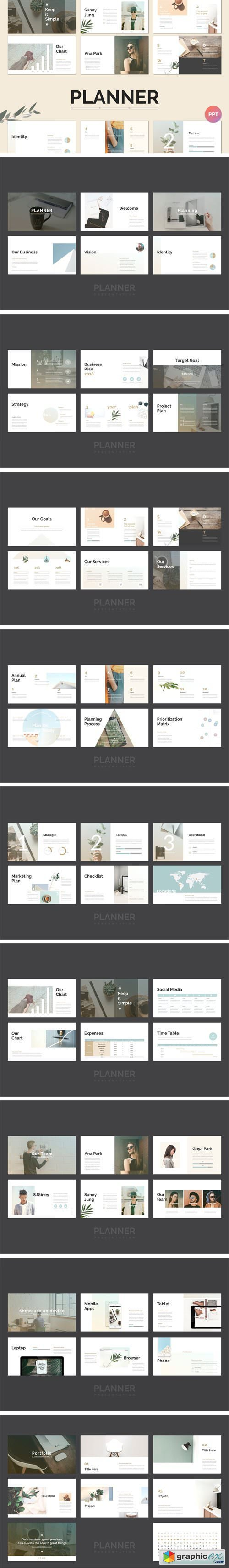 Planner PowerPoint Template 2181967