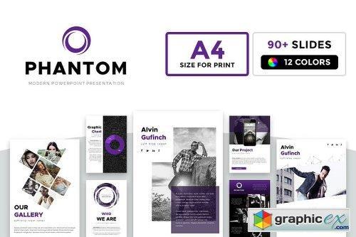 A4 Phantom Point Template