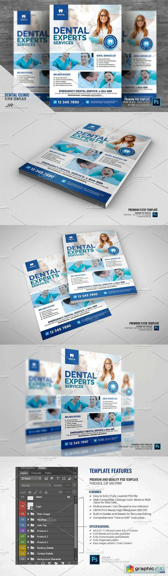 Cosmetic Dentistry Promotional Flyer