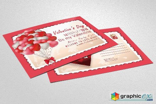 Valentine's Day Postcards 2174621