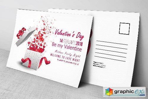 Valentine's Day Postcards 2176876