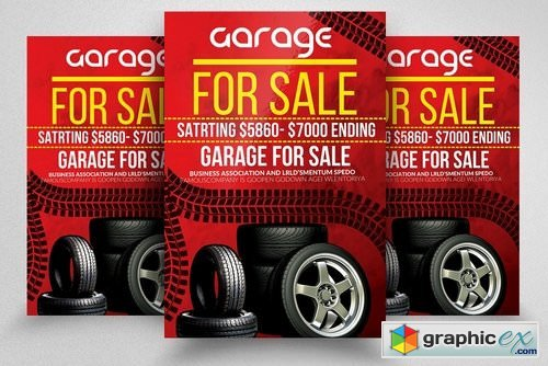 Garage Sale Promotion Poster